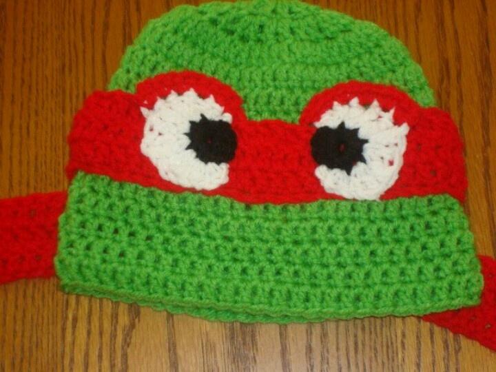 Crochet Ninja Turtle : crochet ninja turtle knitting :) Pinterest