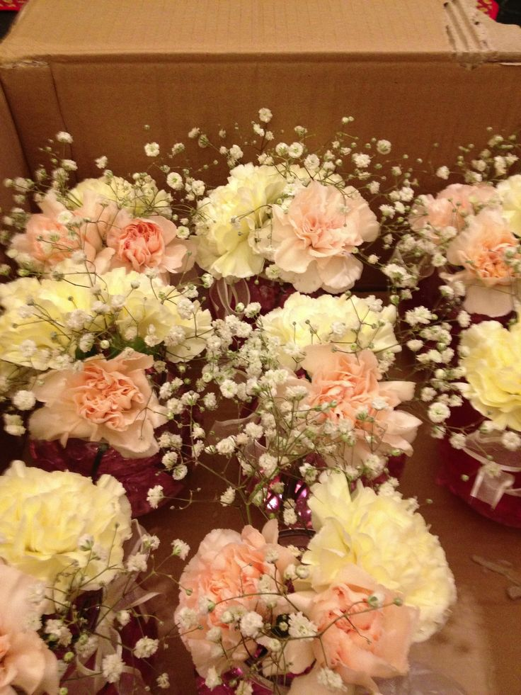 Do it yourself centerpiece for rehearsal dinner or