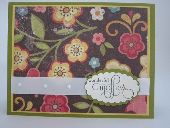 Elegant happy mothers day or birthday card 001 for Classy mothers day cards