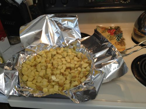 Roasting Potatoes on the Grill   Food to taste   Pinterest