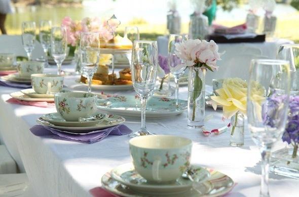 Tea Party Table Settings Ideas : Table Settings