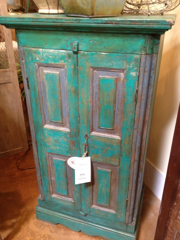 Turquoise cabinet  For the Home  Pinterest