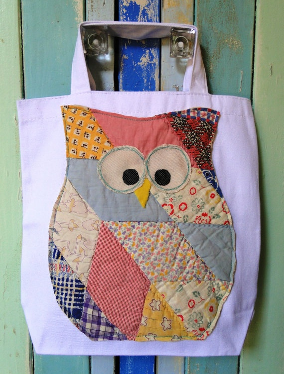 Owl Tote Bag.