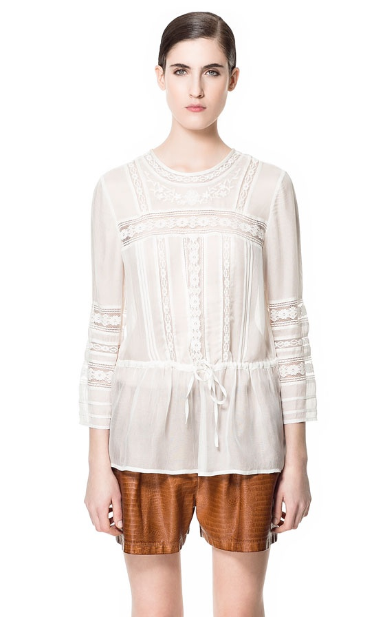 Zara Lace Blouse 31