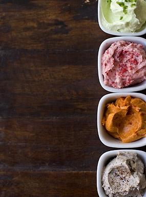 Quartet of Compound Butters | Recipe