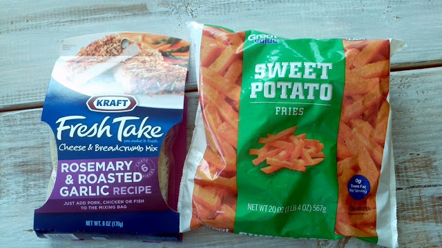 kraft fresh take rosemary and garlic sweet potato fries