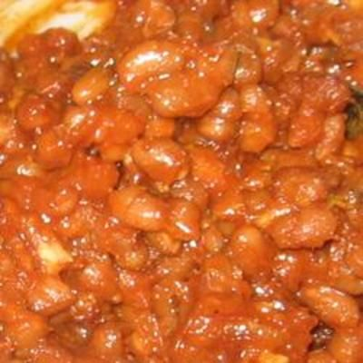 Simple Baked Beans | Side Dishes | Pinterest