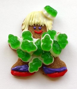Lady Gaga Inspired Gingerbread Gals