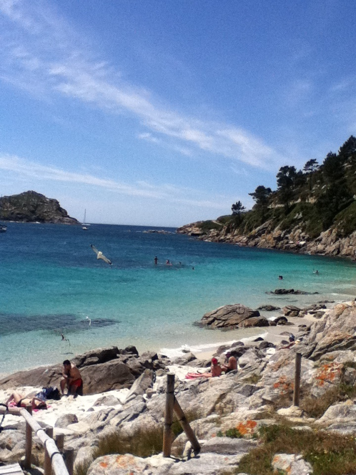 islas ciés, vigo  Places to go, people to see, food to eat... :)  …