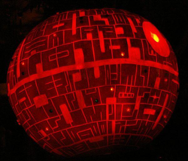 Pumpkin Death StarBowser Pumpkin Carving Patterns