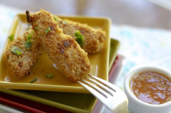 Homemade chicken strips | FOOD. | Pinterest