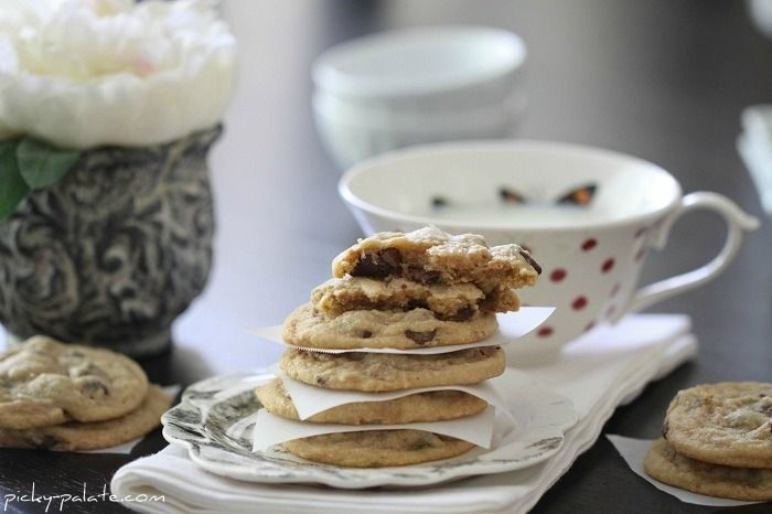 Chocolate Chip and Peanut Butter Truffle Swirled Cookies | Picky ...