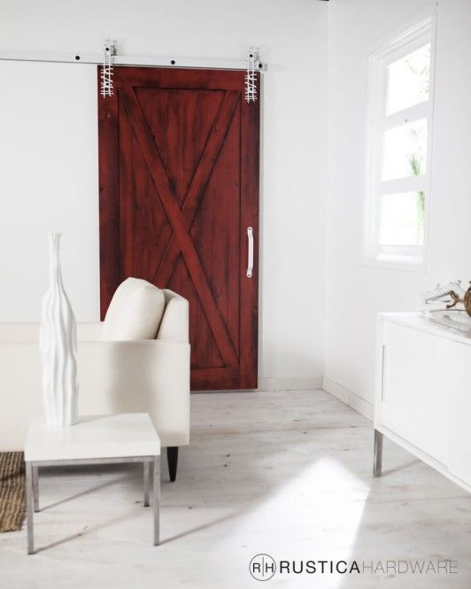 Full X Barn Door - http://RusticaHardware.com/