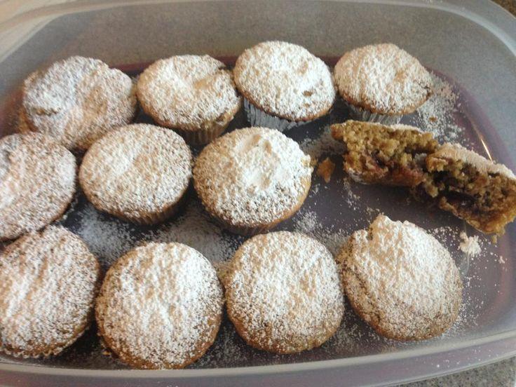 "Jelly Donut Cupcakes (vegan) from Isa Chandra Moskowitz's ""Veganomic..."