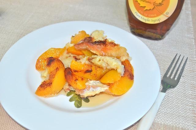 Peach French Toast Bake | Breakfast | Pinterest