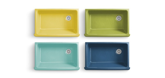 Are You Ready For A Colorful Kitchen Sink