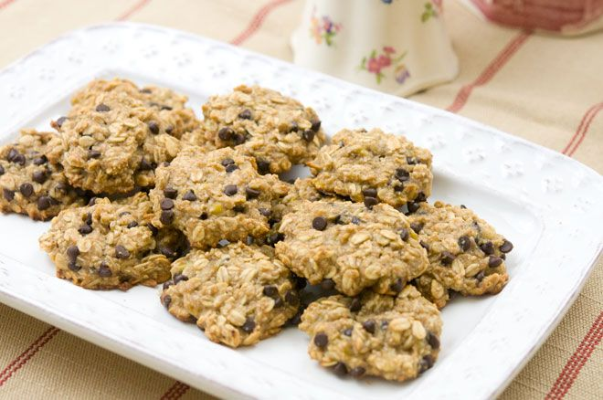Peaceful Plate » Banana, Oatmeal, & Chocolate Chip Cookies ...