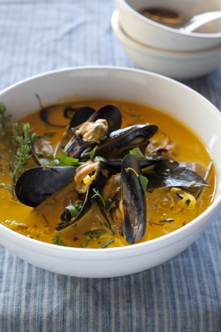 everyone loves a good mussel soup :) | Food - Soups & Stews | Pintere ...
