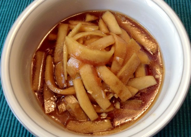 soy sauce sweet apple vinegar sesame oil and minced garlic chili oil ...