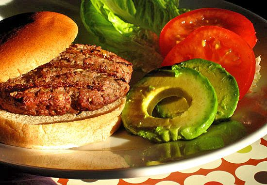 Buffalo burgers: 2 lbs extra-lean ground buffalo/bison meat, 8 oz ...