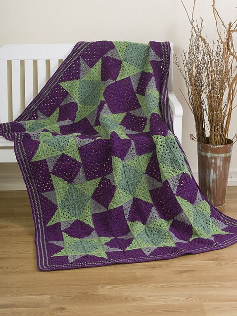 Crochet Quilt : Ravelry: Crocheted Quilt pattern by Darla J. FantonI never thought I ...