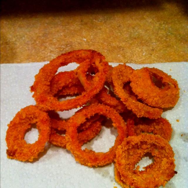 Gluten-free onion rings! | Recipes | Pinterest