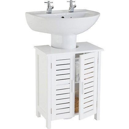 Bathroom Under Sink Storage For The Home Pinterest