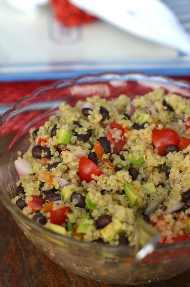 ... Book - Fashion blogs - Personal Style: Quinoa Summer Salad Recipe