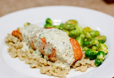 ... dill dill salmon with creamy dill sauce recipe yummly this seared