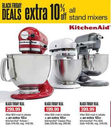 Kitchen Aid Black Friday Sale at Kohls! As low as $100.94!