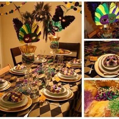 mardi gras dinner party | parties themes, decor