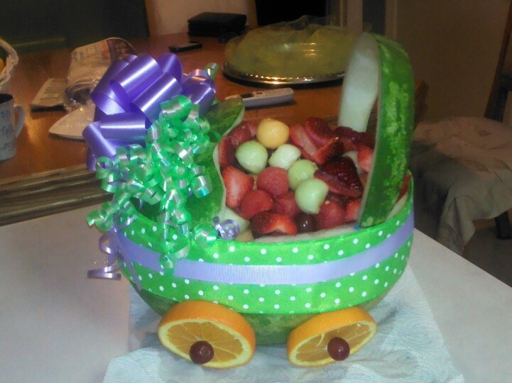 baby shower fruit bowl baby showers pinterest