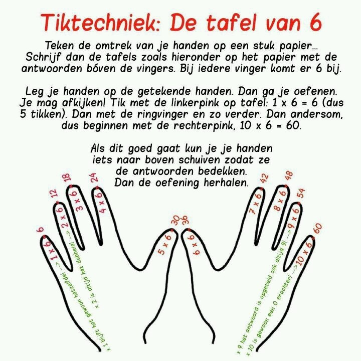 Tafels oefenen onderwijs pinterest for Www tafel oefenen nl