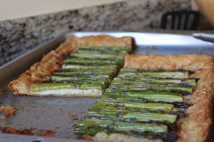 Asparagus Tart | Eat | Pinterest