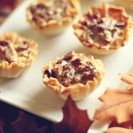 mini maple pecan pies | Must Try Recipes | Pinterest