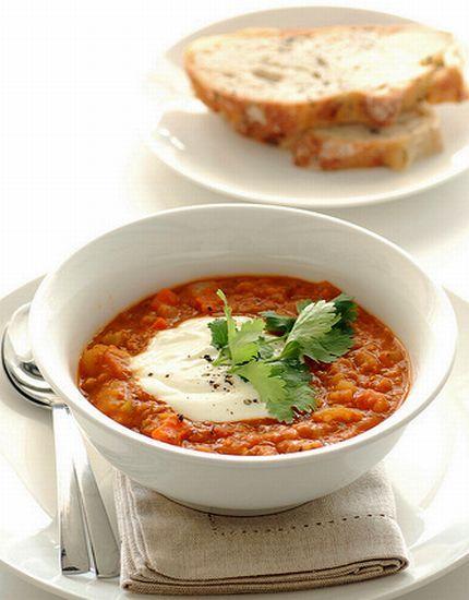 red lentil amp vegetable soup kickstart 2012 with something healthy ...