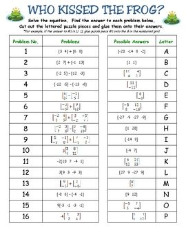 Collection of Adding And Subtracting Matrices Worksheets - Sharebrowse
