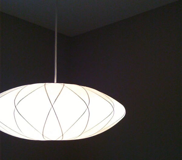 george nelson bubble lamp lighting pinterest. Black Bedroom Furniture Sets. Home Design Ideas