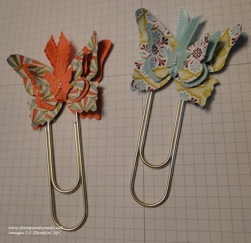 Butterfly Paper Clip