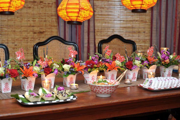 Asian theme party gala ideas pinterest for Asian party decoration ideas