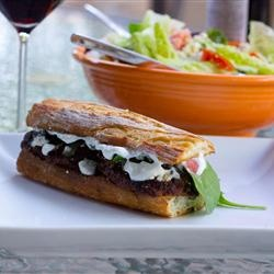Mediterranean Lamb Burgers | Lamb | Pinterest