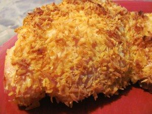 coconut crusted chicken! (Check whether its truly paleo or no)?