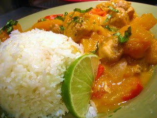 ... Red Curry Chicken with Butternut Squash | Chow Time | Pinterest