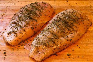 Grilled Chicken Recipe with Sage, Rosemary, and Garlic Dried Herb Rub ...