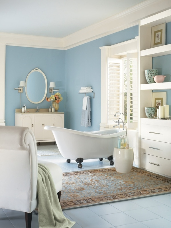 Blue Bathrooms Delectable Inspiration