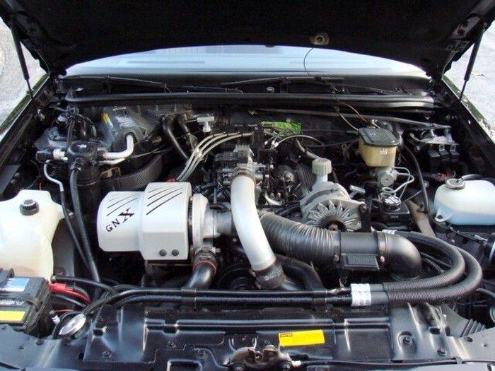 1987 Buick Gnx Engine Bay Cars Pinterest