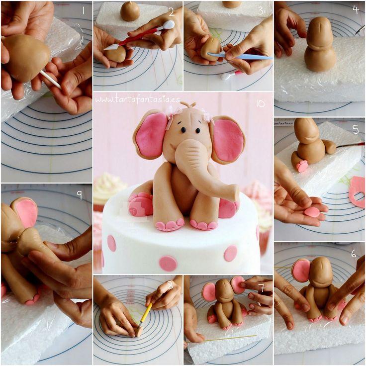 Украшение и фигурки для торта своими руками