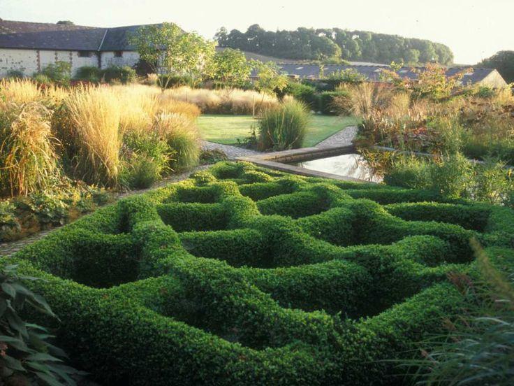 Piet Oudolf Gardens Bury Court Garden Designers