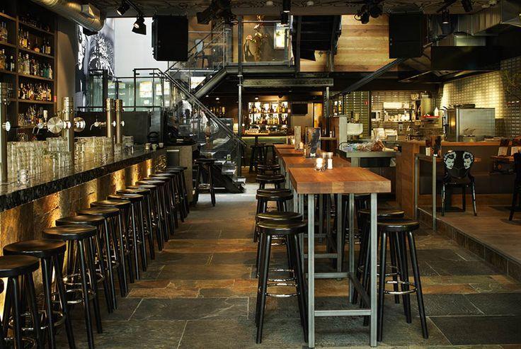 Restaurant interior cool communal table restaurants that don 39 t ser - Restaurant communal tables ...