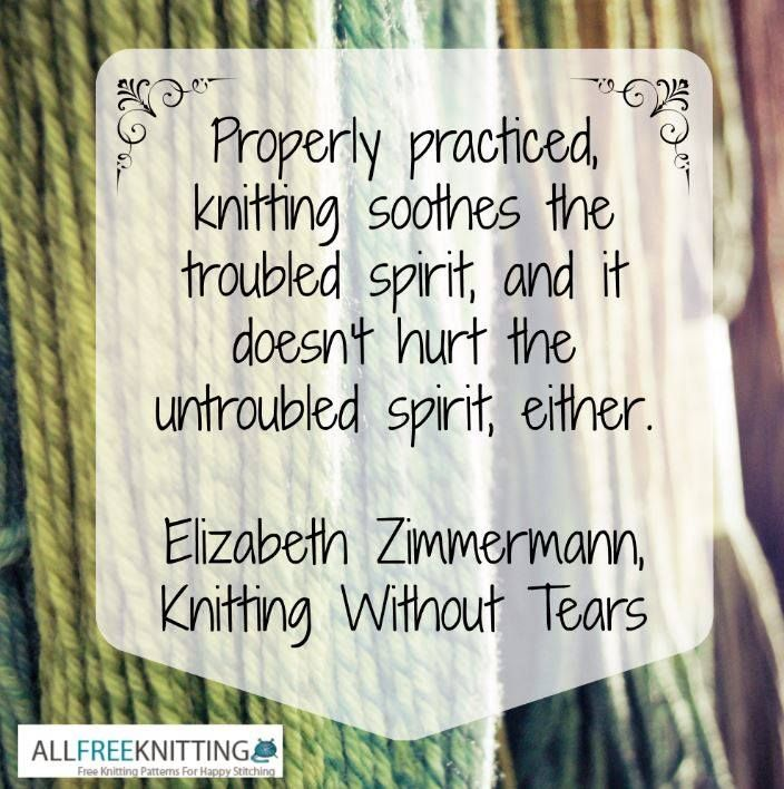 Knitting And Crocheting Quotes : Knitting Quotes. QuotesGram